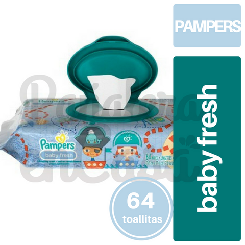 Toallitas PAMPERS Baby Fresh x64