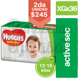 HUGGIES Active Sec XGx36
