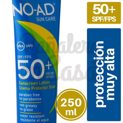 Protector Solar NO-AD 50 spf/fps 250ml