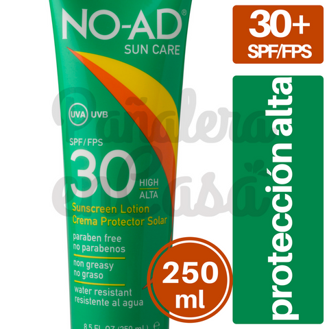 Protector Solar NO-AD 30 spf/fps 250ml
