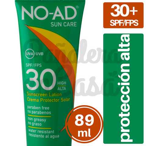 Protector Solar NO-AD 30 spf/fps 89ml