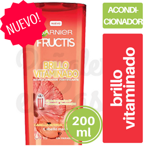 Acondicionador FRUCTIS Brillo Vitaminado 200ml