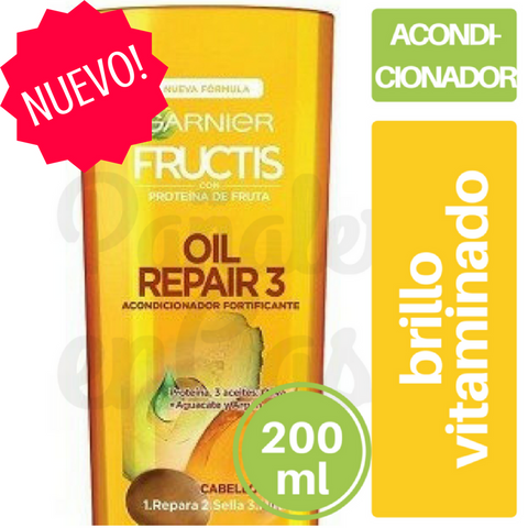 Acondicionador FRUCTIS Oil Repair 200ml