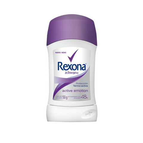 Antitranspirante en Barra REXONA Active Emotion