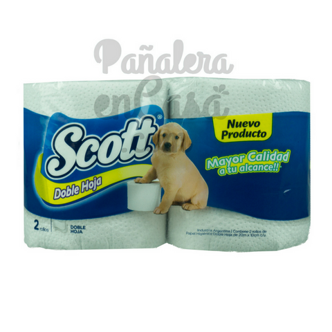 Papel Higiénico SCOTT Doble Hoja 2x20mts.