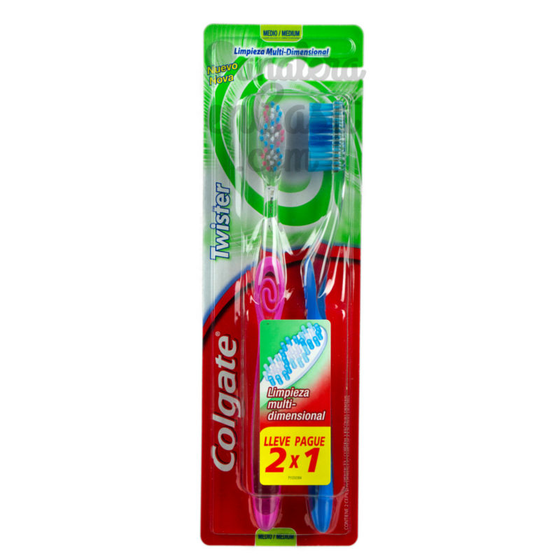 Cepillo Dental COLGATE Twister 2x1