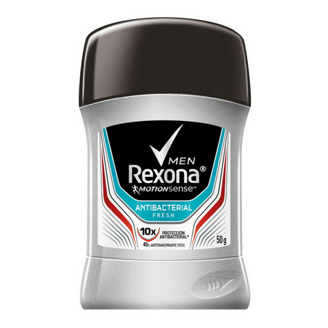 Antitranspirante en Barra REXONA Antibacterial Fresh Men