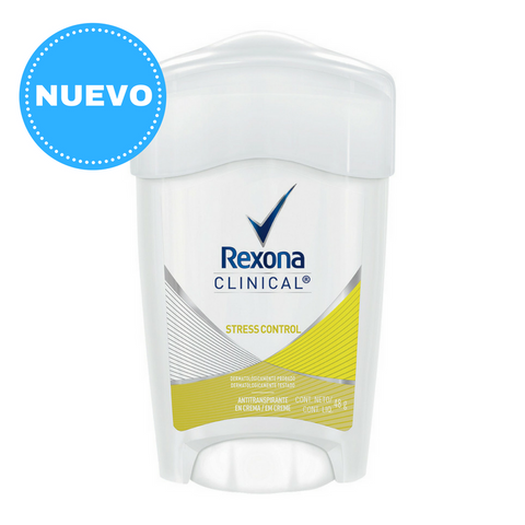 Antitranspirante en Barra REXONA Clinical Stress Control