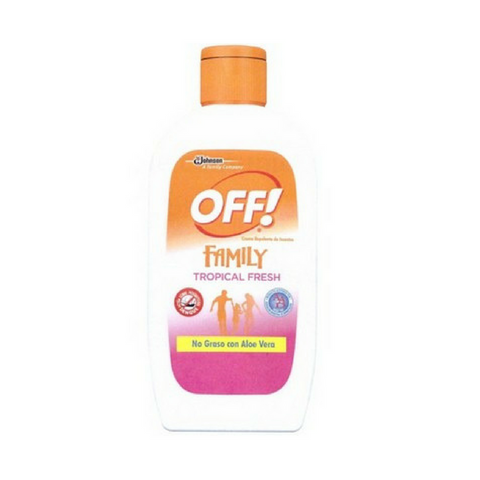 Repelente OFF Family Crema 200g
