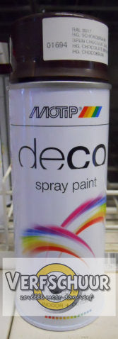 MOTIP Color Spray HG 400ml 01694 RAL8017