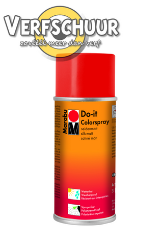 Marabu Do-It colorspray Scharlakenrood 031, 150ml