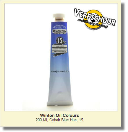 W&N. WINTON OIL COL. TUBE 200 ML. cobalt blue 15 1437179