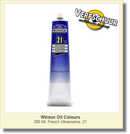 W&N. WINTON OIL COL. TUBE 200 ML. fr. ultra. - 21 1437263
