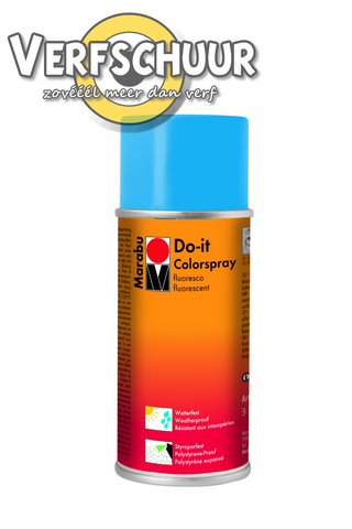 Do-it colorspray fluo blauw 150ml 354