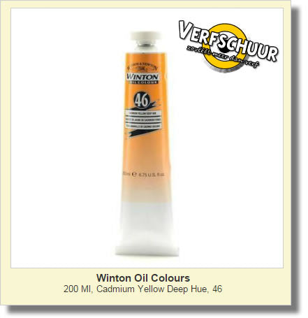 W&N. WINTON OIL COL. TUBE 200 ML. cad.yell.dp - 46