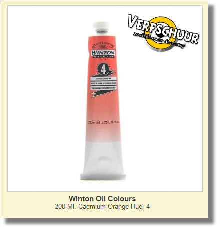 W&N. WINTON OIL COL. TUBE 200 ML. cadm.orange - 04