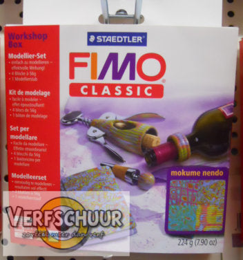 "Fimo classic workshop box - ""mokume gane"""