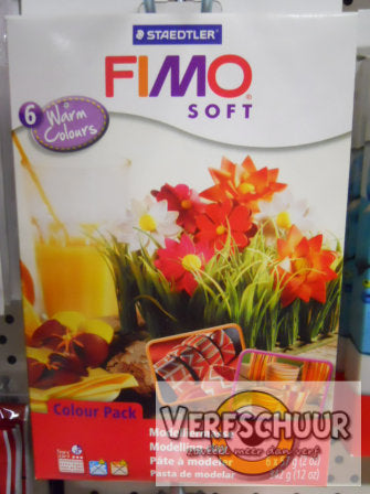 Fimo soft set Warm Colours (6x57g) 8023 03