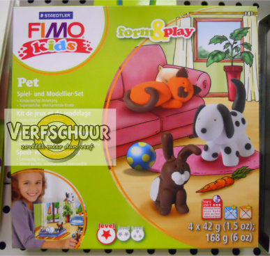 Fimo kids Form&Play 'Pet' 8034 02 LY