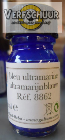 Pigment waterbasis Ultramarijnblauw 7.5ml 8862