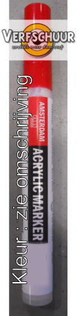 Amsterdam Acrylic marker 1-2mm Zilver 800 17538000
