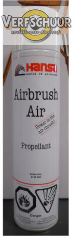 Hansa Airbrush Air Propellant 600ml 4125 300