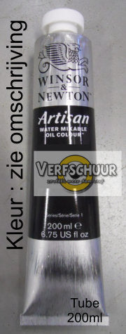 W&N. ARTISAN WMOC Tube 200 ML. - Ivory Black