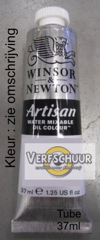 W&N. ARTISAN WMOC Tube 37 ml. - ivory black 331