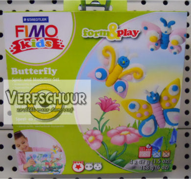 Fimo kids Form&Play 'Butterfly' 8034 10 LY