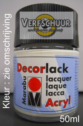 DECORLACK-ACRYL 50 ML ULTRAMARIJNBLAUW D 155
