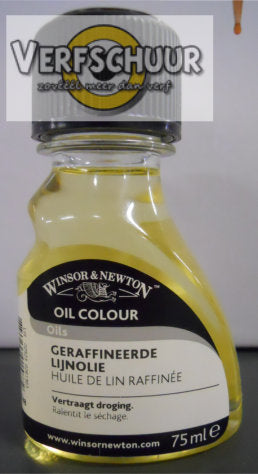 W&N. LINSEED OIL. REFINED 75 ML.