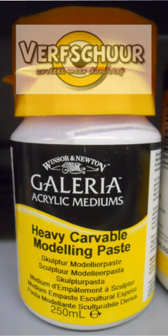 W&N. GALERIA ACRYLIC Heavy Car. Mod. PASTE 250 ML.