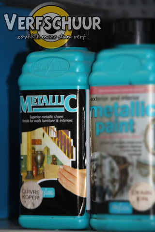 Metallic paint 500ml grecian copper