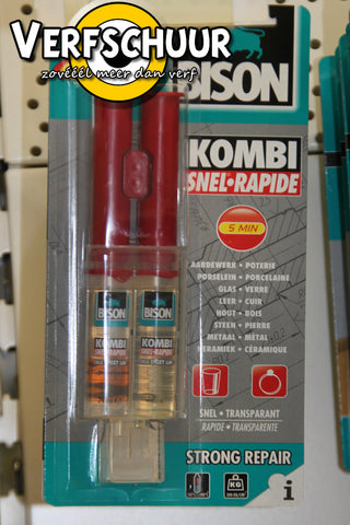 Kombi snel 5min. 2comp. Blister 24ml