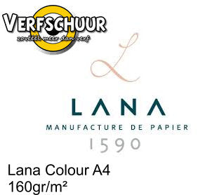Lana colours A4 écume 160g/m² 15023155 ( 23155 )