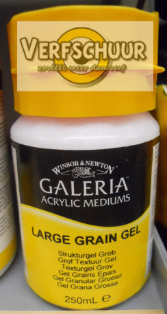 W&N. GALERIA ACRYLIC Large Grain GEL 250 ML. 3040809