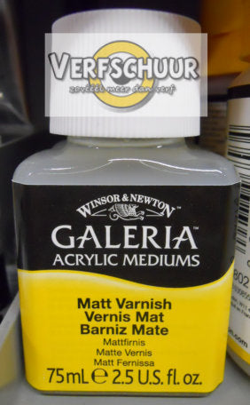 W&N. GALERIA ACRYLIC Matt VARNISH 75 ML.