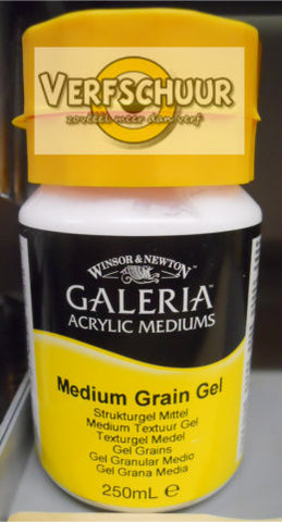 W&N. GALERIA ACRYLIC Medium Grain GEL 250 ML.