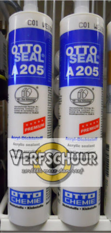 OTTO SEAL Acryl-afdichtingskit 310ml A205 wit