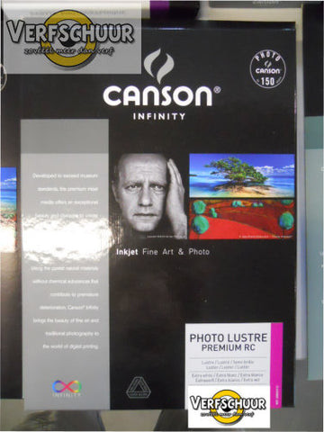 Canson Photo Lustre Premium RC 310gr A4 25v 400049112