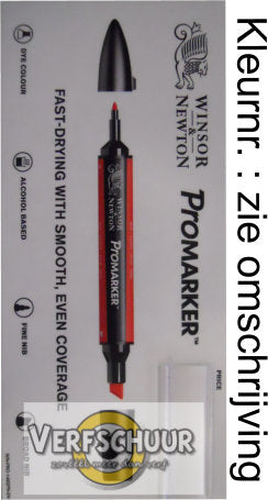 W&N Promarker permanent M727 ROSE PINK 0203168