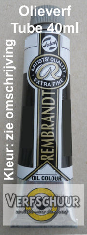 Rembrandt Olieverf tube 40 ml kleur:416 (Sepia) serie:1