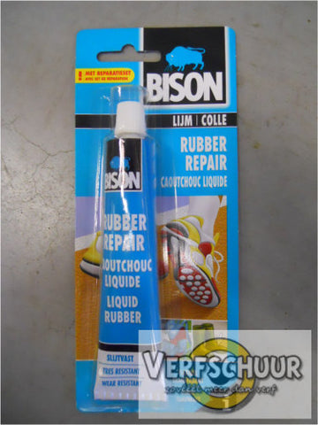 Bison Rubber Repair blister 50ml