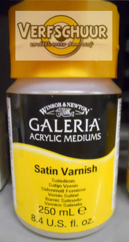 W&N. GALERIA ACRYLIC Satin VARNISH 250 ML.