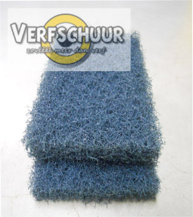 Scotch brite schuurtampon blauw 95mm x 158mm
