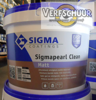 SIGMAPEARL CLEAN MATT WIT 10 L