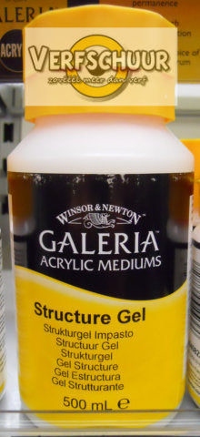 W&N. GALERIA ACRYLIC Stucture GEL 500 ML.