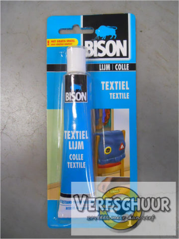 Bison Textiellijm blister 50ml