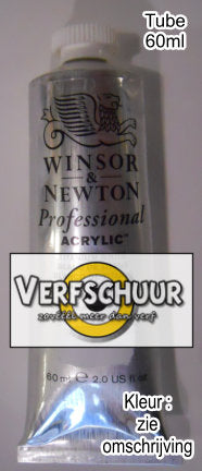 W&N. PROF.ACRYLIC COL. 60ml SERIE 3 cadm.red medium 099 2320099