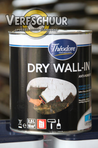 Goudron Blanc Théodore Dry Wall-In 2,5L